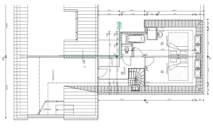 Geliefde Bouwtekening dakopbouw - Blauwdruk bouw LJ69